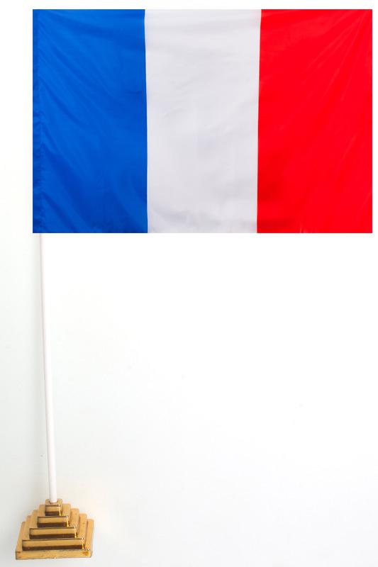 Флаг Франции настольный