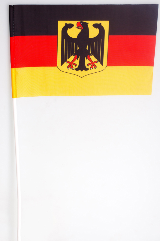 Флажок Германии на палочке