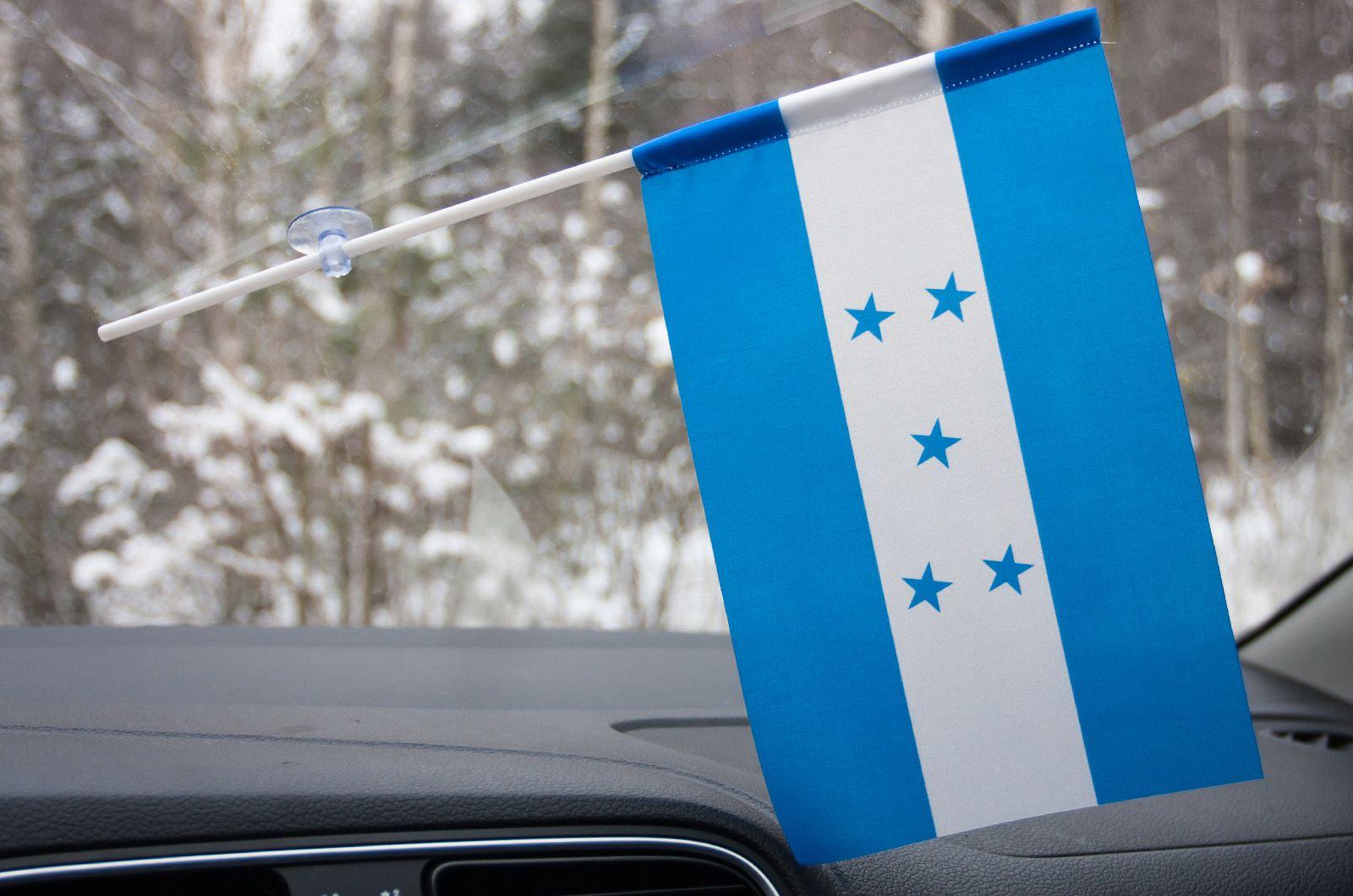 Флажок Гондураса с присоской