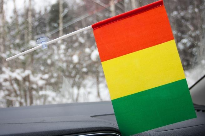 Флажок Гвинеи с присоской