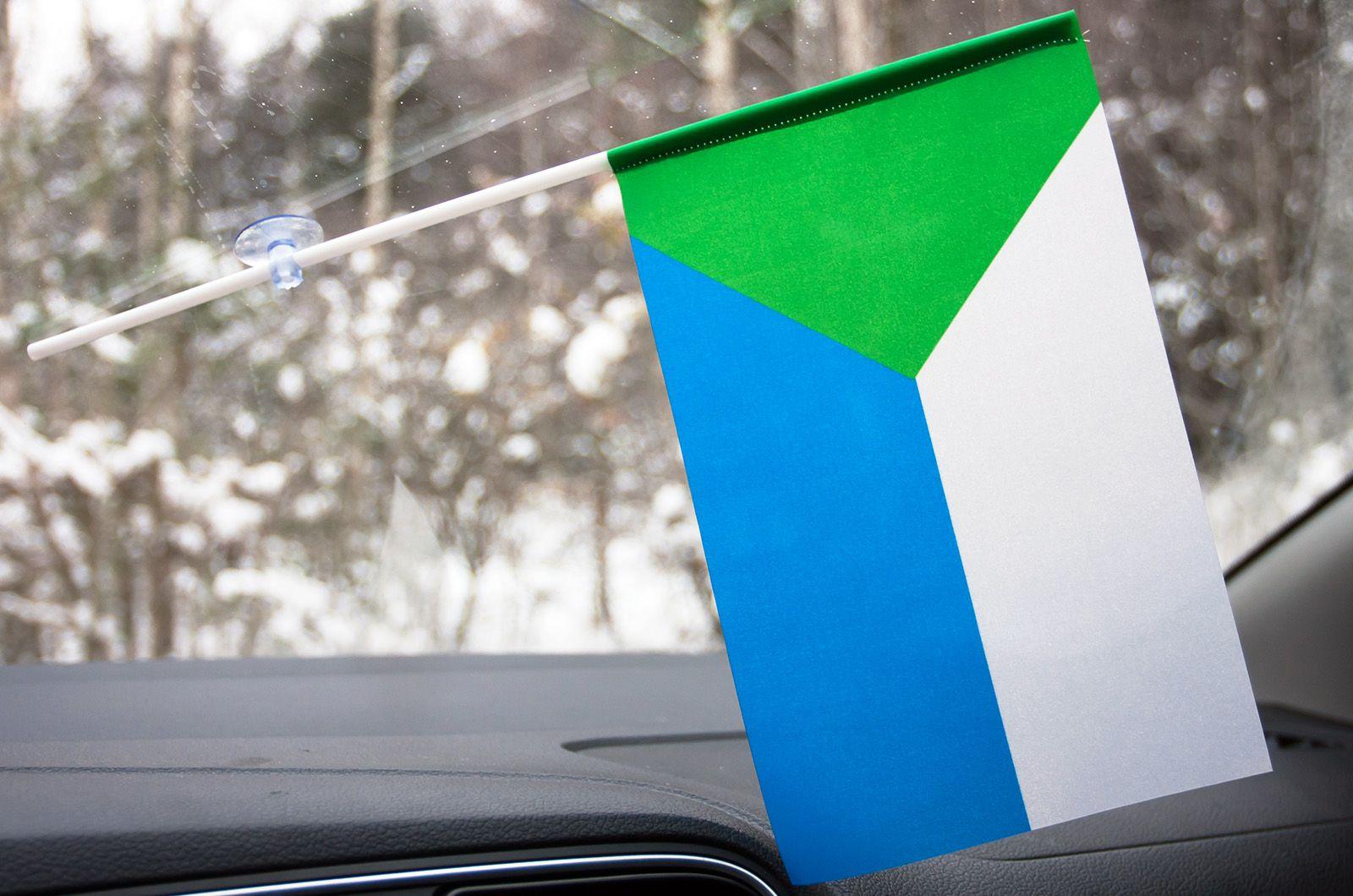 Флажок Хабаровского края в машину