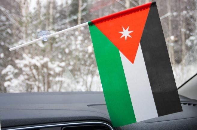 Флажок Иордании с присоской