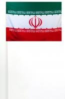 Флажок Ирана на палочке