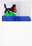 Флажок Иркутска на палочке