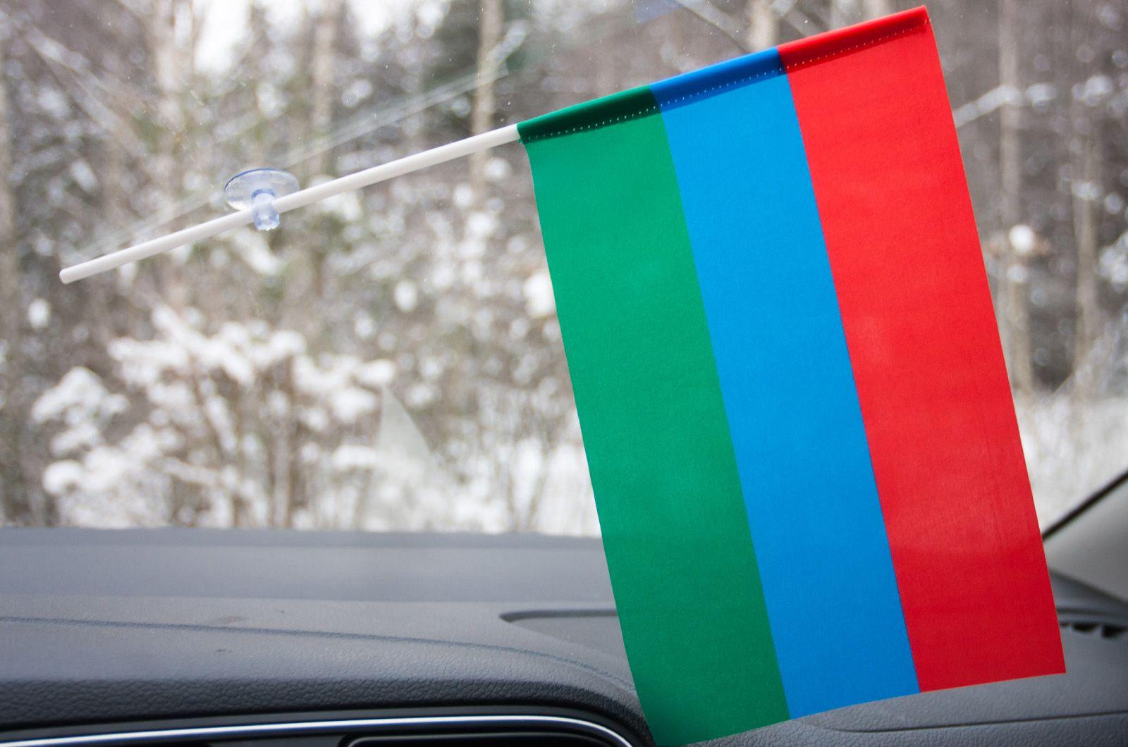Флажок Карелии в машину