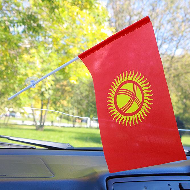 Флажок Киргизии в машину