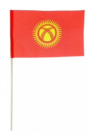 Флажок Киргизии