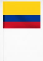 Флажок Колумбии на палочке