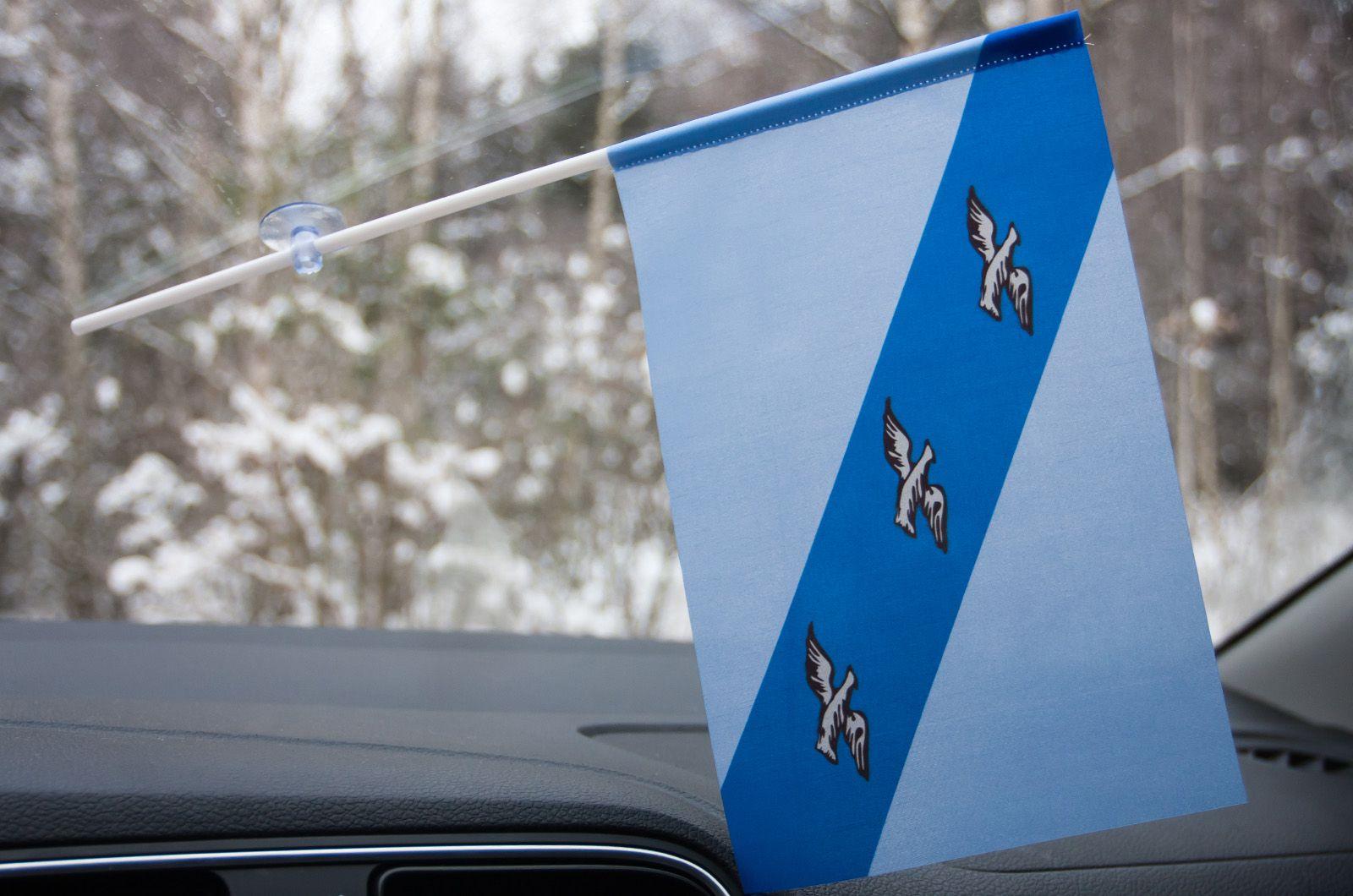 Флажок Курска в машину