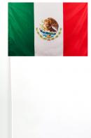 Флажок Мексики на палочке