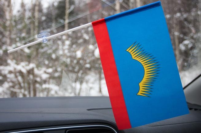 Флажок Мурманской области на присоске