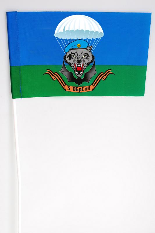Флажок на палочке «3 Отдельная бригада Специального назначения»