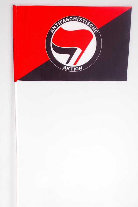 Флажок на палочке «Антифа»