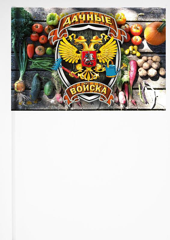 "Флажок на палочке ""Дачные войска"""