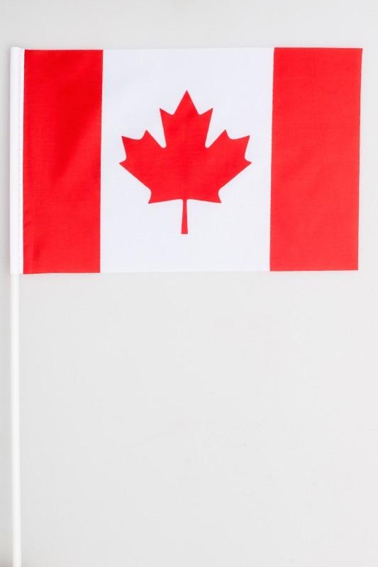 Флажок на палочке «Флаг Канады» по акции