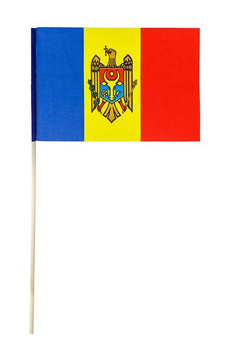 Флажок на палочке «Флаг Республики Молдова»