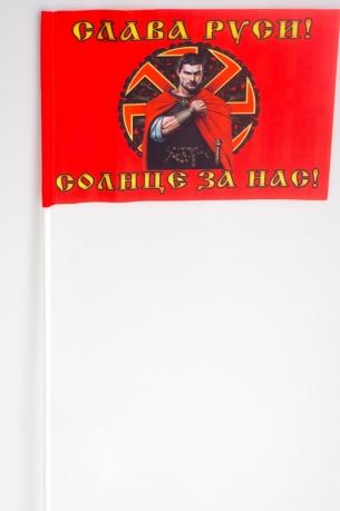 Флажок на палочке «Коловрат Слава Руси»
