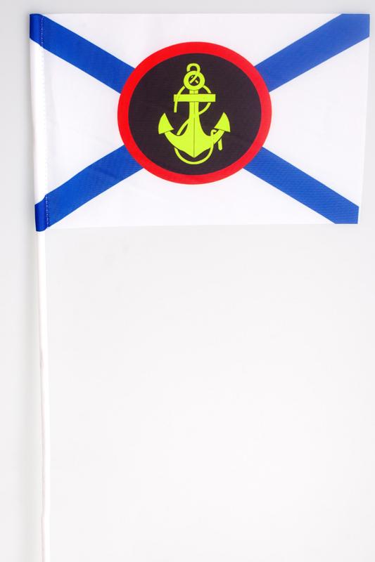 Флажок на палочке «Морская пехота России»