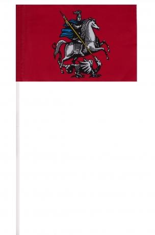 Флажок Москвы на палочке