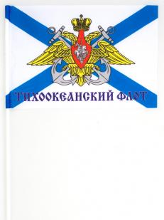 Флаг ТОФ на палочке