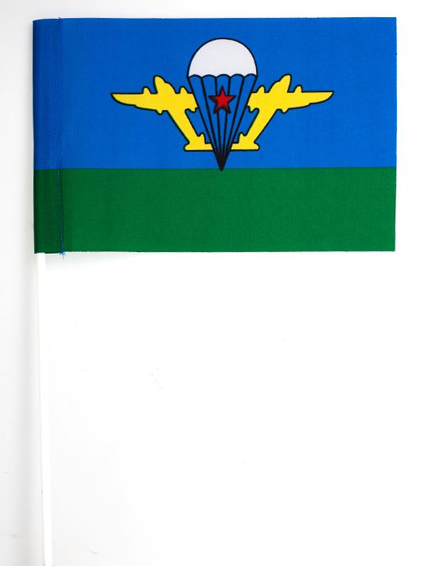 Флажок на палочке ВДВ СССР с белым куполом
