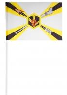 Флажок на палочке «Войска РХБЗ России»