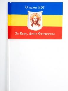 Флаг Всевеликого Войска Донского «С нами Богъ»
