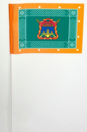 Флажок на палочке «Знамя Иркутского Казачьего войска»