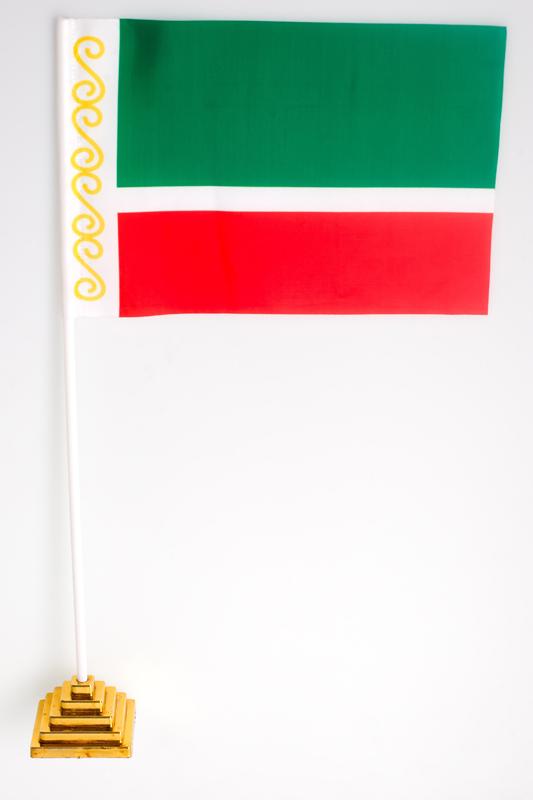 Флажок настольный Чеченской республики