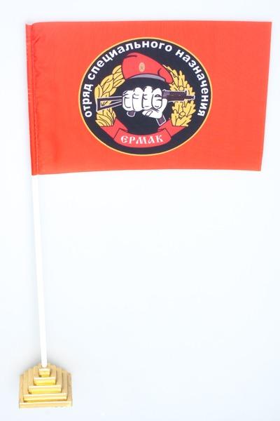 Флажок настольный Спецназа ВВ 19 ОСН Ермак