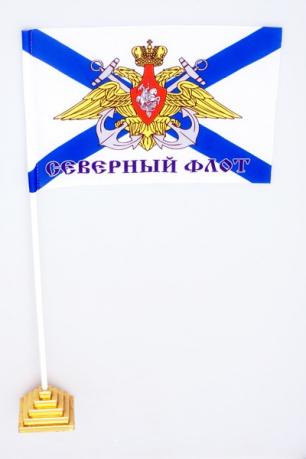 """Флажок настольный """"Северный флот"""""""