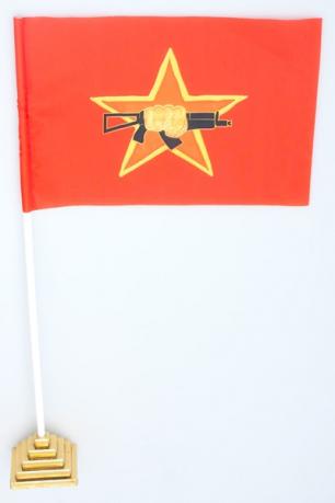 """Флажок настольный """"Флаг краповых беретов спецназа ВВ"""""""