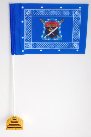 Флажок настольный Знамя войска Терского