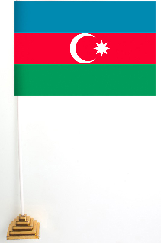 Флаг Азербайджана настольный
