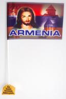 Флажок настольный «Флаг Армения Иисус»