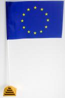 Флажок настольный Евросоюза