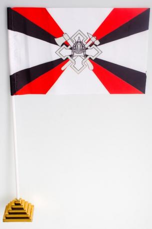 Флажок настольный «Флаг воинских частей и организаций расквартирования и обустройства войск»