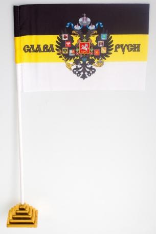 Флажок настольный «Слава Руси»
