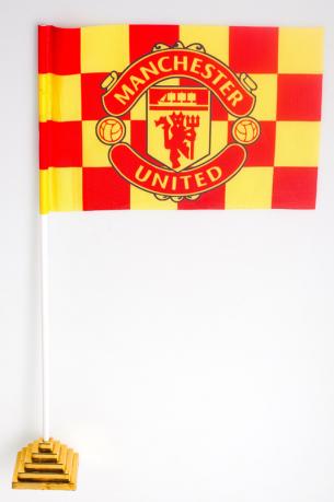 Флажок настольный Manchester United