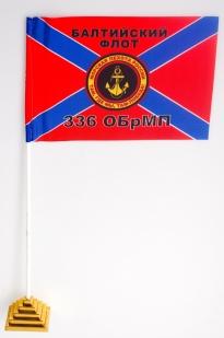 Двухсторонний флаг «336 ОБрМП Балтийский флот»