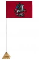 Настольный флажок Москвы