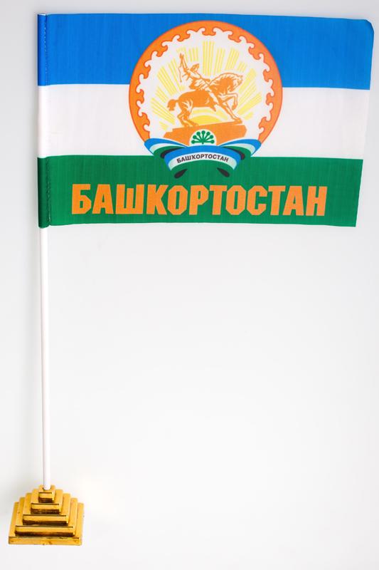 Флажок настольный Республика Башкортостан