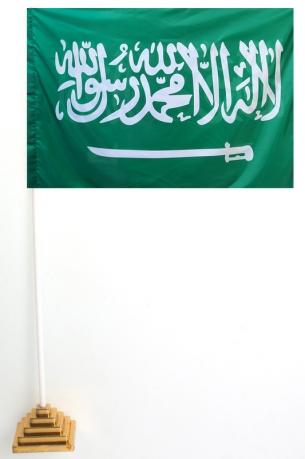 Флаг Саудовской Аравии настольный