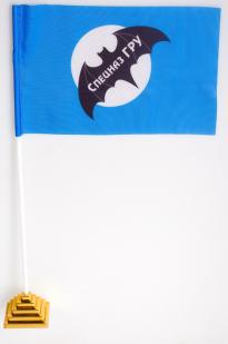 Двухсторонний флаг Спецназа ГРУ