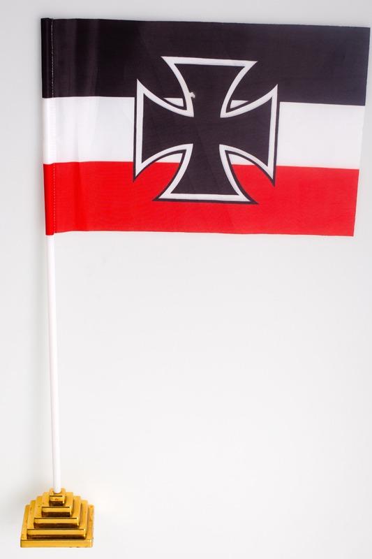 Флажок настольный Гюйс императорских ВМС Германии