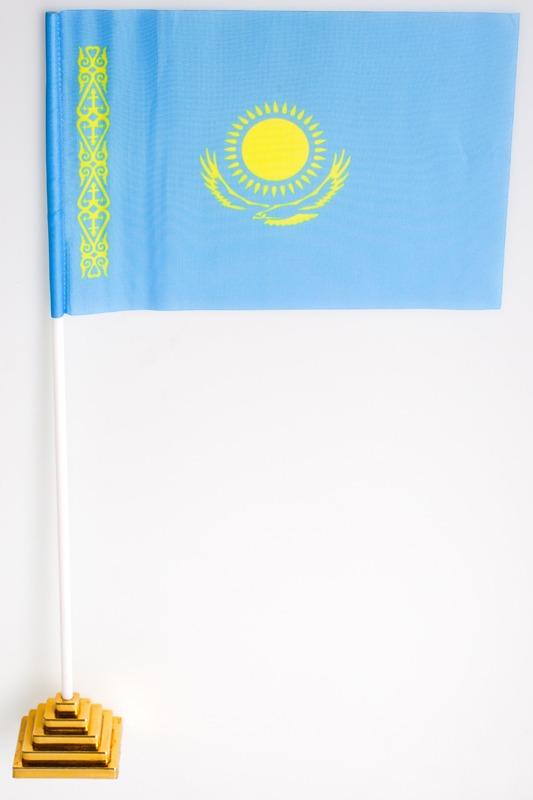 Флажок настольный Казахстан