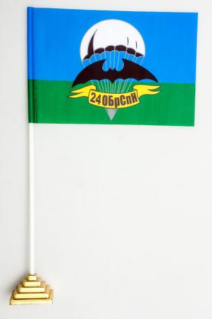 Флажок настольный 24 бригада Спецназа