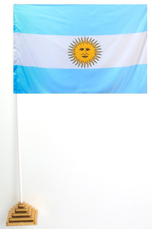 Флаг Аргентины настольный