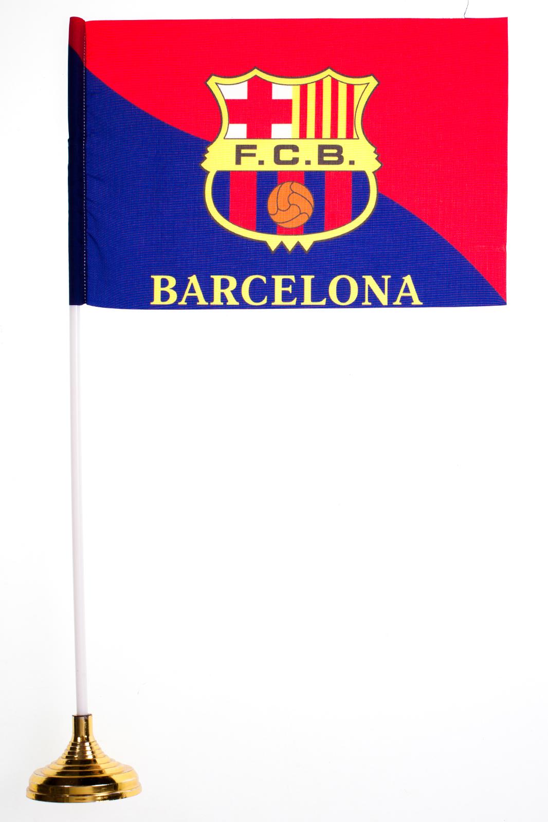 Флажок настольный Barcelona
