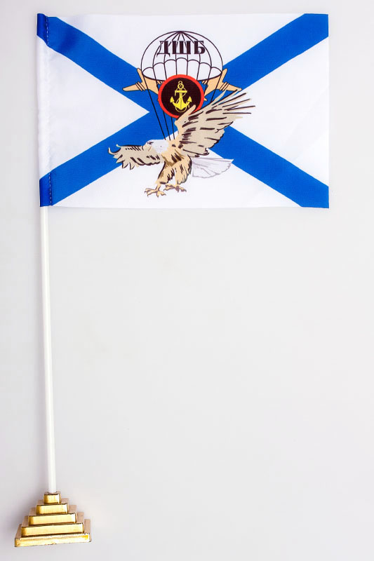 Флажок настольный ДШБ Морской пехоты